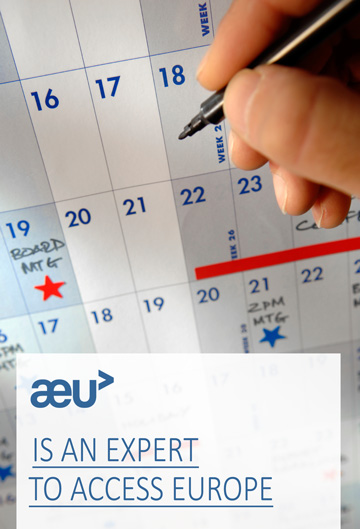 AEU is an expert to access europe